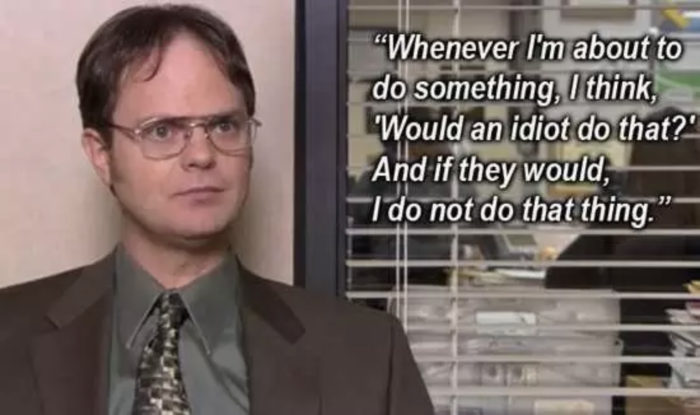dwight office quote